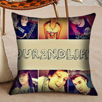 Pillow Case - Our Second Life Collage