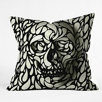 Ali Gulec Skull 4 Throw Pillow