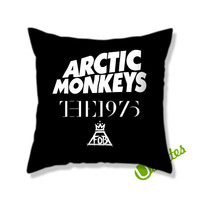 Artic Monkeys The 1975 The Fall Out Boy Square Pillow Cover