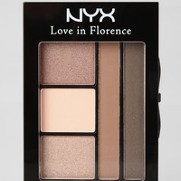 Urban Outfitters - NYX Love In Florence Eye Shadow Palette