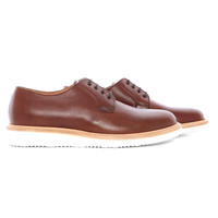 BH107 - Light brown derby with wedge sole