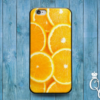 iPhone 4 4s 5 5s 5c 6 6s plus + iPod Touch 4th 5th 6th Generation Bright Orange Slice Cute Bright Phone Cover Custom Funny Fun Fruit Case