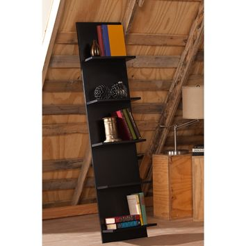 Zenhe Leaning Shelf Black