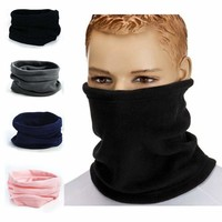 Unisex Thermal Fleece Neck Gaiter scarf