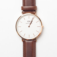 Classic Bristol 40mm Brown Rose