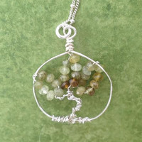 Gillian Hurrie- Tree of Life Wire Wrapped Necklace