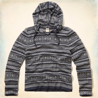 Swami's Beach Aztec Hooded Sweater