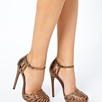 ASOS HANDWRITTEN Heeled Sandals