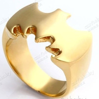 Fashion Batman Ring Stainless Steel = 1927787332