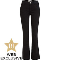 Black Cleo bootcut jeans