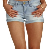 Lt. Denim Sparrow Cutoff Shorts