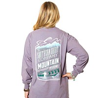 Mountain Weekend Long Sleeve Tee in Grey Ridge by The Southern Shirt Co.