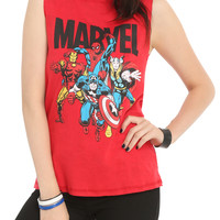 Marvel Group Reversible Girls Muscle Top