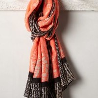 Amaya Scarf by Anthropologie Pink One Size Scarves