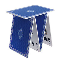 Playing Card Side Table