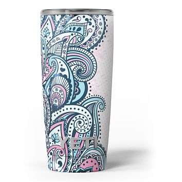 Colorful Ethnic Sprouts - Skin Decal Vinyl Wrap Kit compatible with the Yeti Rambler Cooler Tumbler Cups