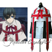 Black Butler Cosplay Ciel Phantomhive Church Costume - Custom made in Any size
