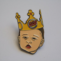Thee Future King Prince George - Soft Enamel Lapel Pin