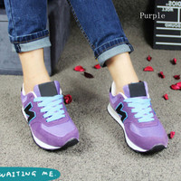"""""""New balance""""Running shoes leisure shoes gump sneakers lovers shoes n words"""