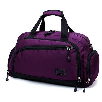 Gym Yoga Pilates Sports Bag for Men or Women 4 Colors Nylon Waterproof Fitness or Travel Duffel Bag FREE SHIPPING