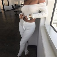 Women'S Long-Sleeved Two-Piece Pants