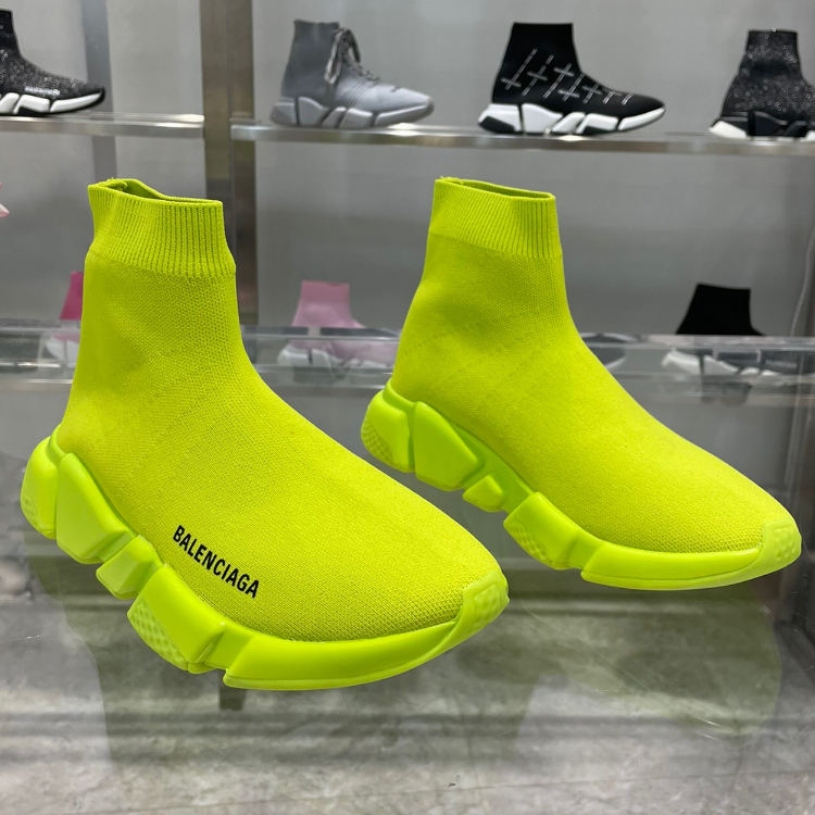 Image of Balenciaga Sock Boots Woman Men Fashion Breathable Sneakers Running Shoes