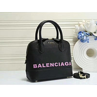 Balenciaga Women Fashion Leather Handbag Tote Satchel
