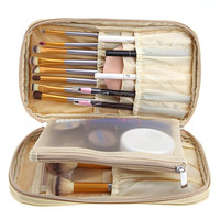 Beauty Girl Hot Pro Makeup Brush Bag Cosmetic Tool Brush Organizer Holder Pouch Pocket Kit Dec.1