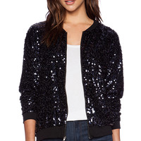 Eight Sixty Bomber Jacket in Black
