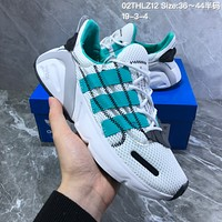 HCXX A691 Adidas Yeezy Boost 600 Knit Breathable Mesh Sports Casual Running Shoes White Green