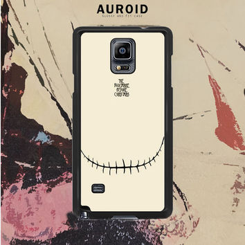 The Nightmare Before Christmas Smiley Samsung Galaxy Note 4 Case Auroid