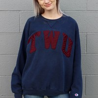 """Texas Woman's University"" Vintage Sweatshirt"