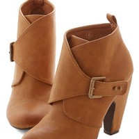 ModCloth Urban Brilliant Down the Block Bootie