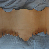 Thread-Headed Snippet: Simple Stays: Leather Stays tutorial, Part 1
