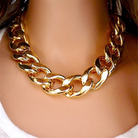 Fashion Necklaces For Women 18K Gold&Silver Plated Chain