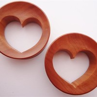 Red Heart Saba Wood Plugs (2 gauge - 3 inch)