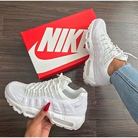 Nike Air Max 95 new air cushion shock absorption sports couple shoes