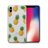 Pineapple Overload - Clear TPU Case Cover
