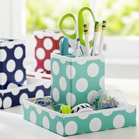 Printed Desk Accessories, Utility Caddy