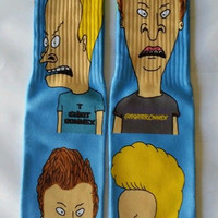 BEAVIS AND BUTTHEAD SOCKS