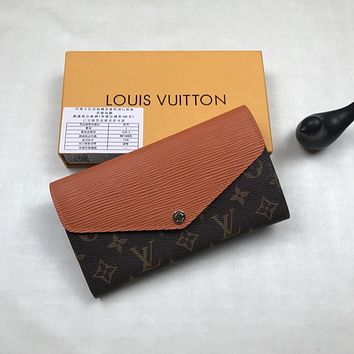 LV Louis Vuitton OFFICE QUALITY MONOGRAM CANVAS Marie-Lou WALLET