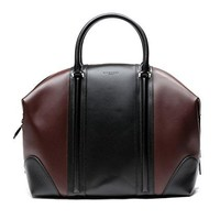 Givenchy Women's Color Blocked Real Leather Tote Handbag