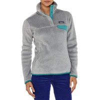 Patagonia Women's Re-Tool Snap-T® Fleece Pullover   Rusted Iron - Dark Currant X-Dye