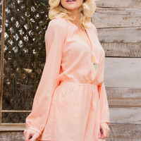 Shop Priceless Arwen Romper - Blush
