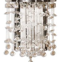 Uttermost Fascination Crystal Wall Sconce - 22445