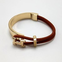 Hermes Woman Fashion Logo Plated Bracelet Jewelry Tagre™