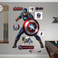 Avengers: Age of Ultron Captain America Wall Decal by Fathead