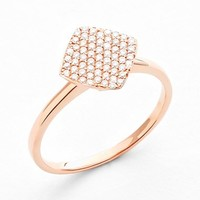 Women's Bony Levy Diamond Cocktail Ring - Rose Gold (Nordstrom Exclusive)