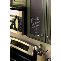 Wallies® Peel and Stick Wall Decal - Slate Gray Chalkboard