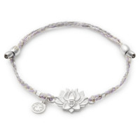 LOTUS PEACE PETALS Precious Threads Bracelet